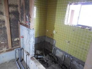 浴室2-1工事中