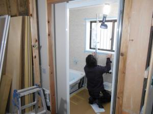 浴室2-2工事中